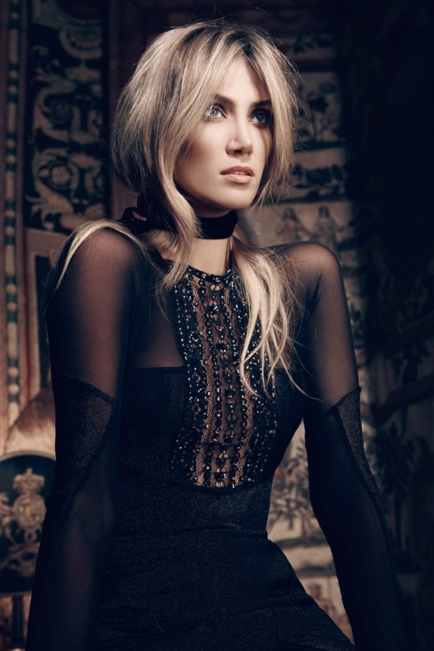 Delta Goodrem Vogue Australia July 2012