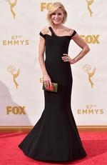 Julie Bowen attends the 67th Emmy Awards in Los Angeles. Picture: Getty