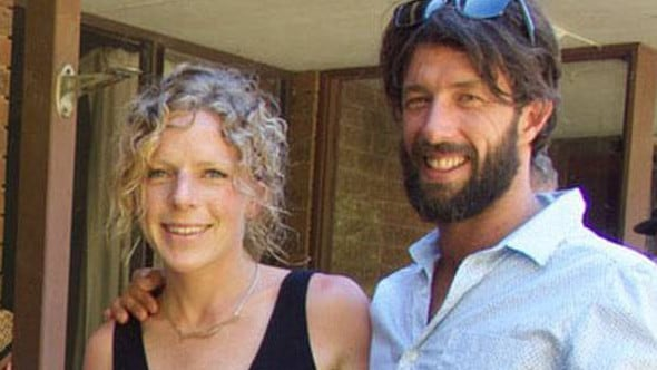 Ms Buckley and Mr McKinnon were on a surfing holiday when the random attack occurred. Picture: Facebook