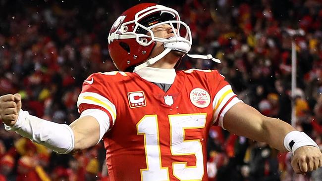 Patrick Mahomes makes stunning playoff debut in Kansas City Chiefs win over  Andrew Luck and the Indianapolis Colts 92ea97c17