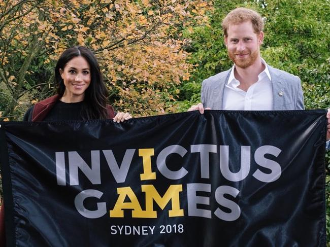The couple have been promoting the Invictus Games ahead of their Sydney trip. Picture: Instagram