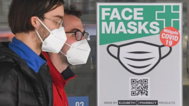 Andrews - Please wear a mask and self-isolate