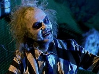 Michael Keaton as Beetlejuice. Picture: Supplied