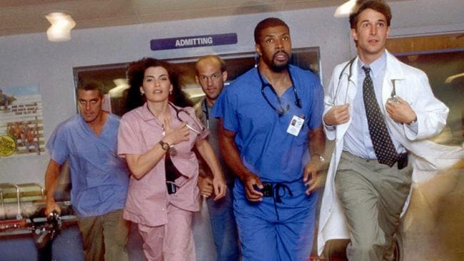 ER was one of the most iconic shows of the 1990s. Picture: AP