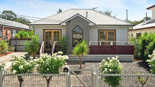 26 Heather St, Hamlyn Heights, sold after auction. It was passed in on a $480,000 vendor bid on Saturday.