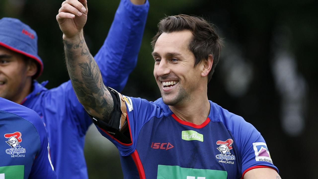 Newcastle Knights player Mitchell Pearce will return from injury.