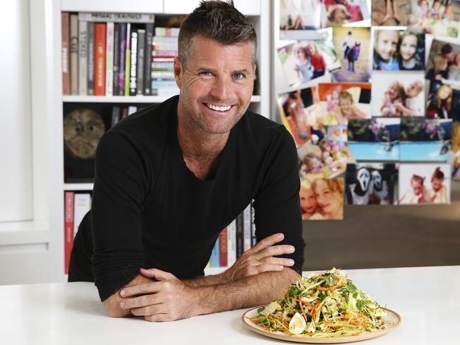 Chef Pete Evans is an advocate of the paleo diet lifestyle. Picture: Justin Lloyd