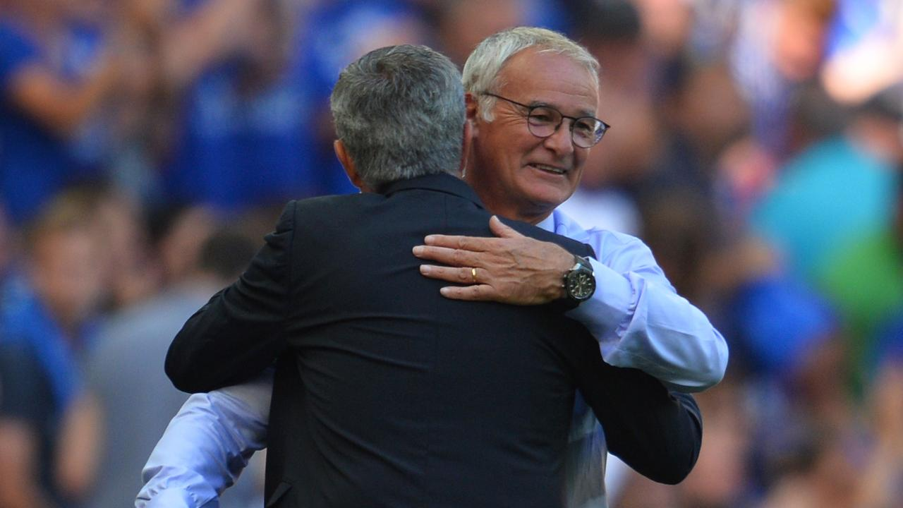 Ranieri says he and Mourinho have a good relationship.