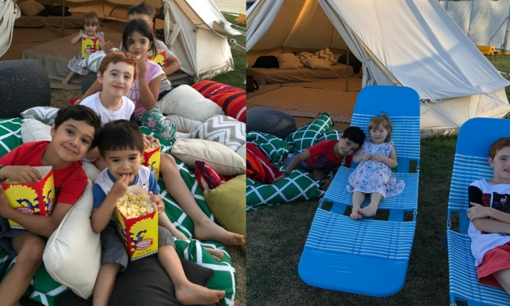 We've found the best family night (and it leads to an easy bed time!)