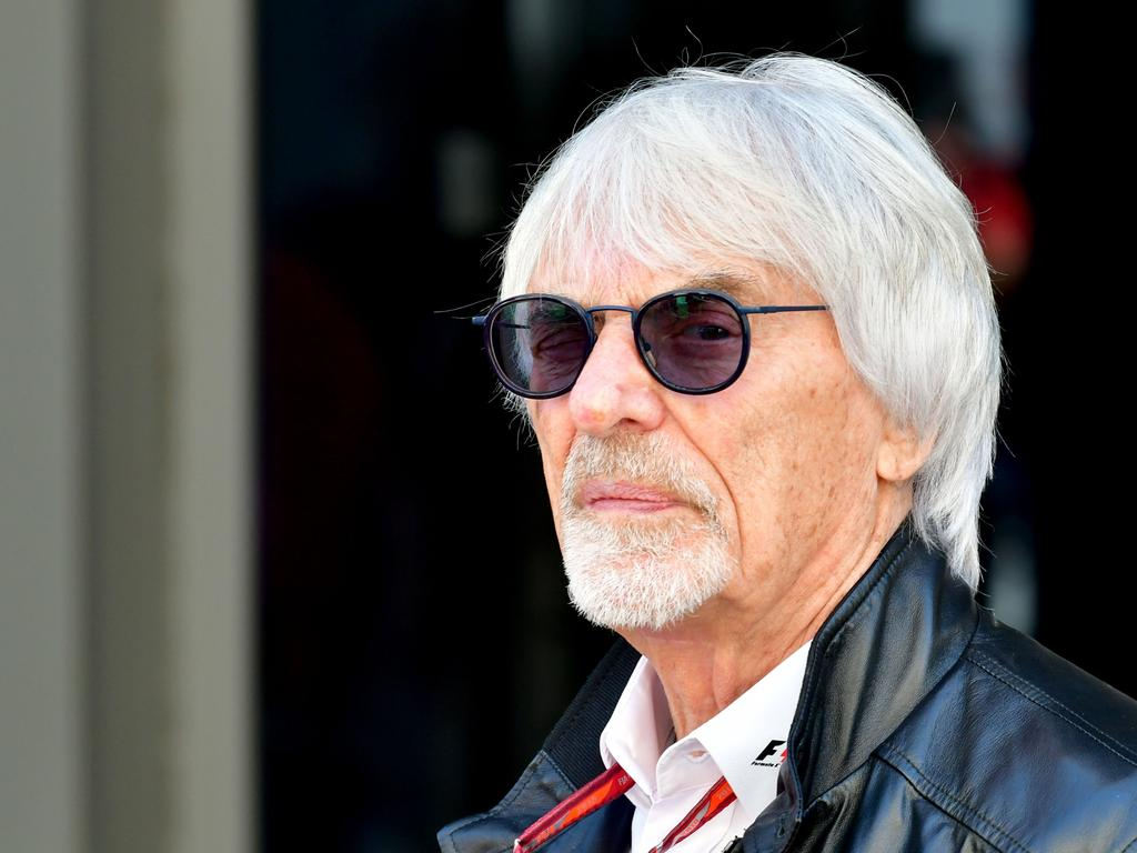 Former F1 boss Bernie Ecclestone is under fire.