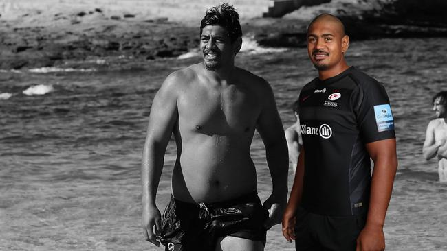 Will Skelton has had a physical transformation since moving to Saracens.
