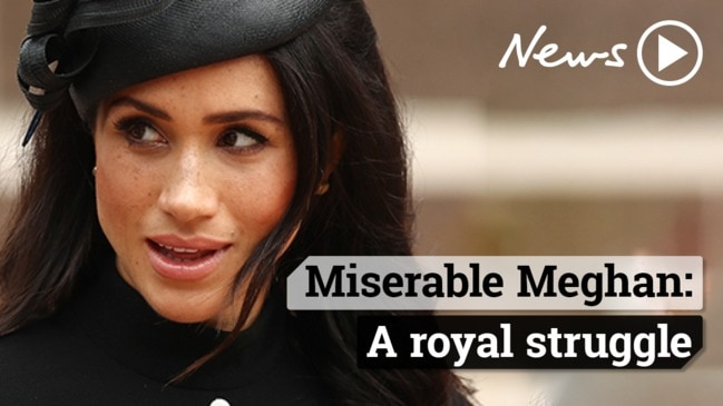 Is Meghan Markle a miserable royal?