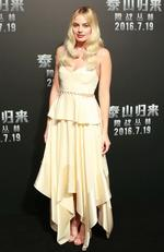 """Margot Robbie attends """"The Legend of Tarzan"""" premiere on July 7, 2016 in Beijing, China. Picture: Getty"""