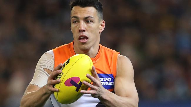 Giants Dylan Shiel is expected to ask for a trade.