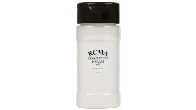 RCMA Translucent Powder ($30, at Hilary Holmes)