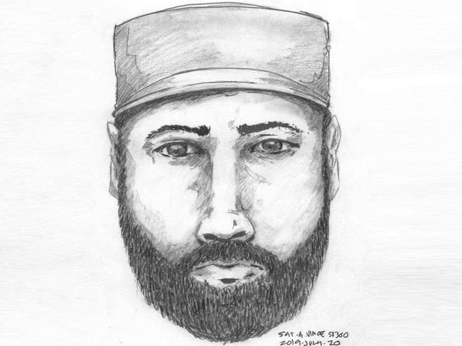 This man was seen talking to Lucas Fowler and Chynna Deese on the night before they were murdered. Picture: BC RCMP