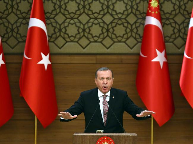 Turkish President Recep Tayyip Erdogan has cracked down on dissidents and media.