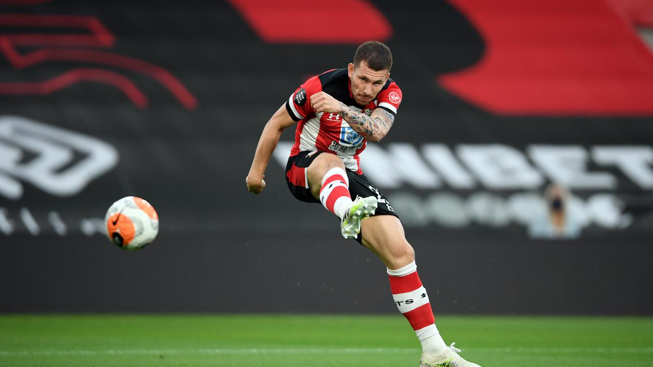Pierre-Emile Hojbjerg is being chased by Spurs and Everton.