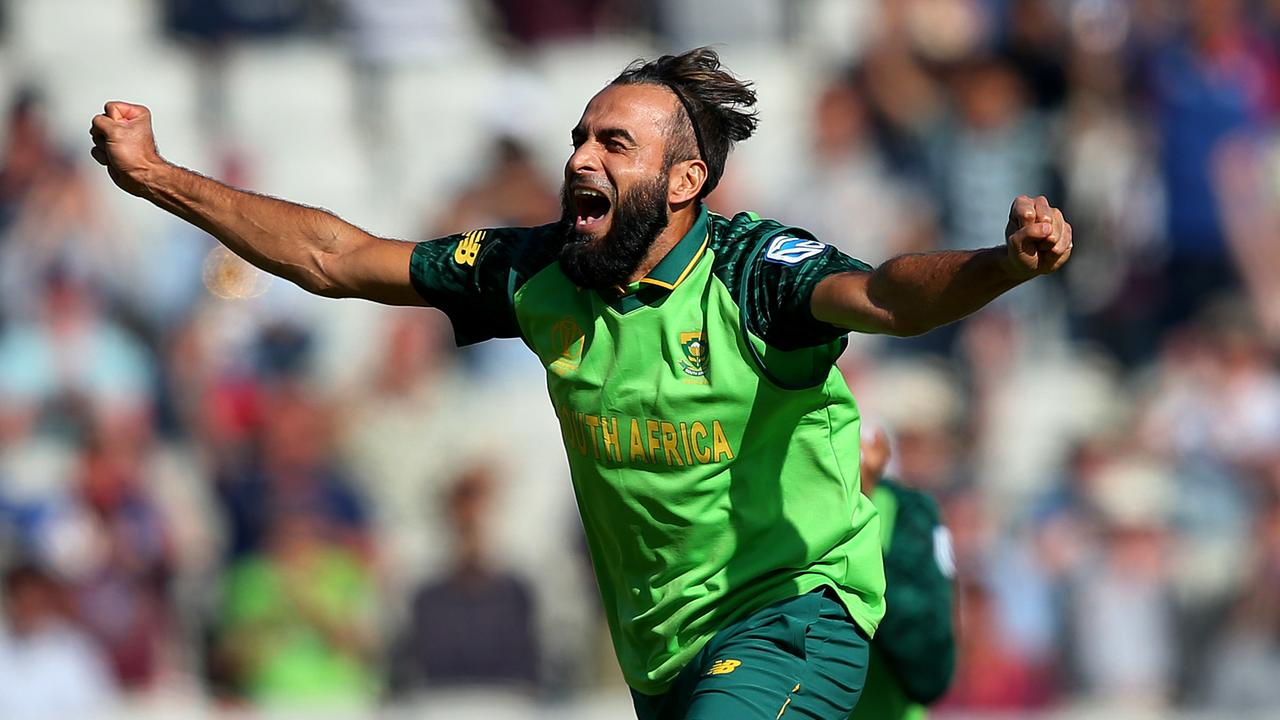Imran Tahir of South Africa will join the Melbourne Renegades. Picture: Alex Livesey/Getty Images