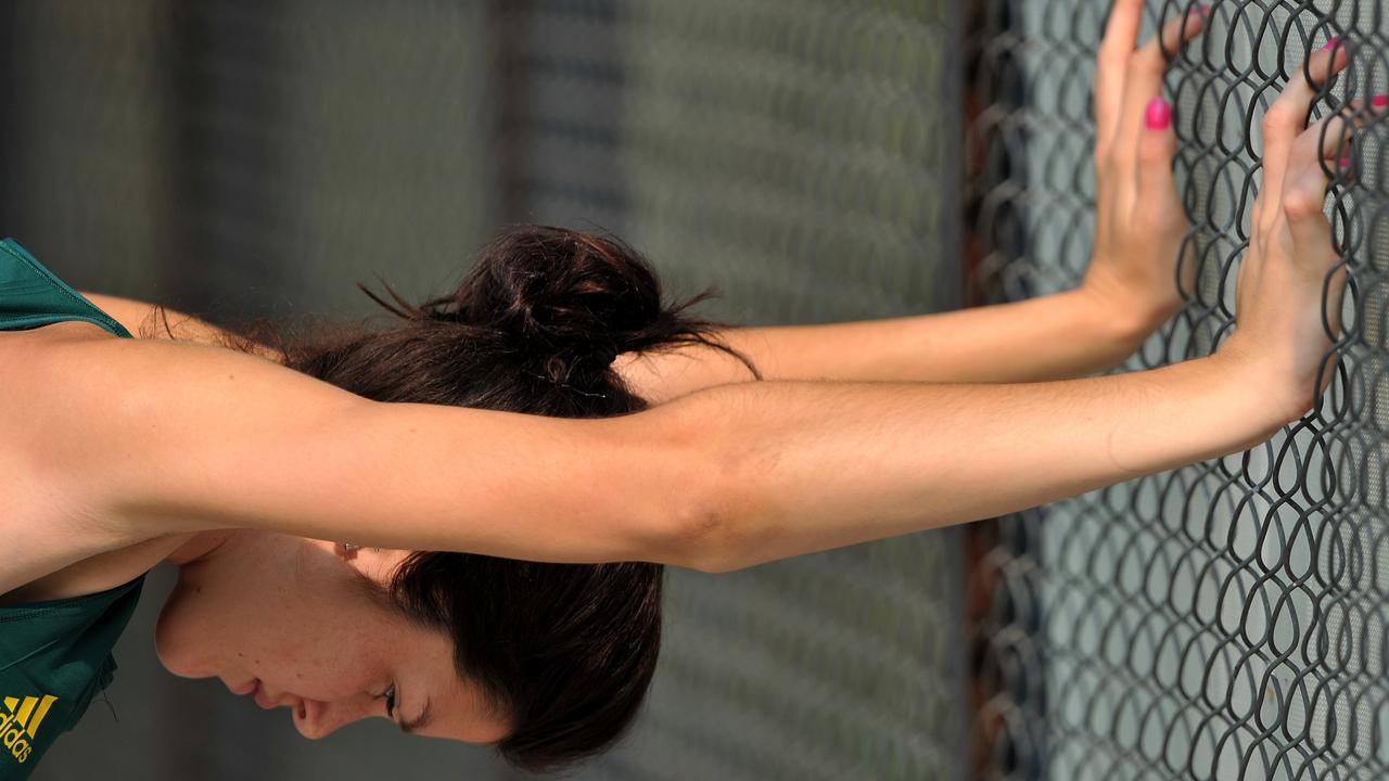 Australian women's hockey player Anna Flanagan. (AAP Image/Paul Miller)