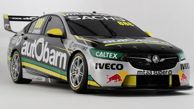 Craig Lowndes' new Autobarn Lowndes Racing Holden.