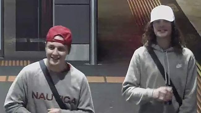 Police have identified the two men but they are still on the run. Picture: AAP/Victoria Police