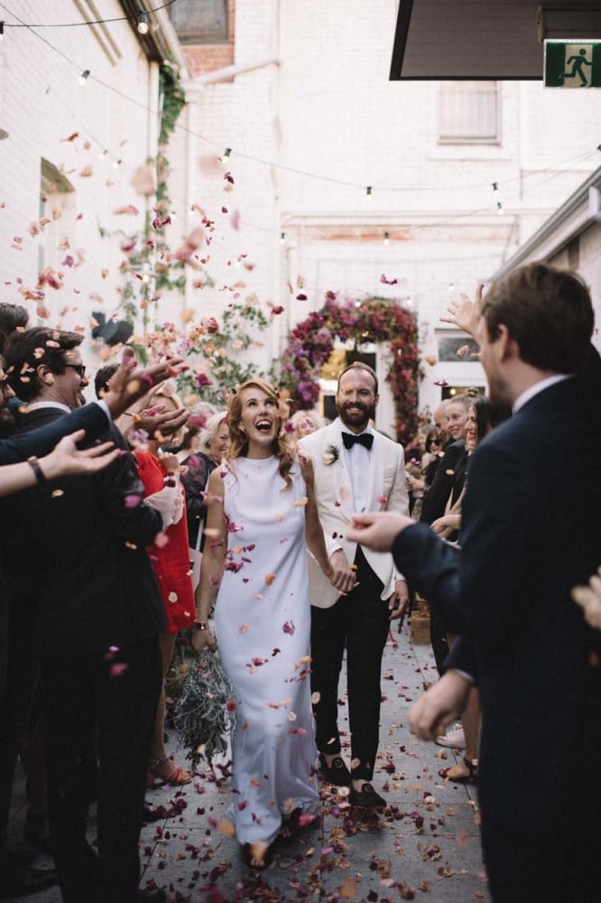 Inside an eclectic Perth wedding