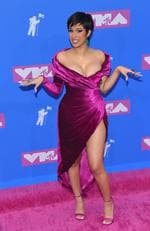 Cardi B at the 2018 MTV Video Music Awards. Picture: Mega