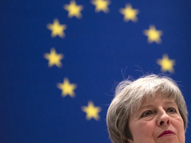 British Prime Minister Theresa May is under enormous pressure on Brexit. Picture: Getty
