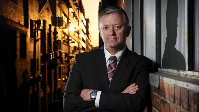 Former Detective Sergeant Peter Moroney. Picture: Tim Hunter.