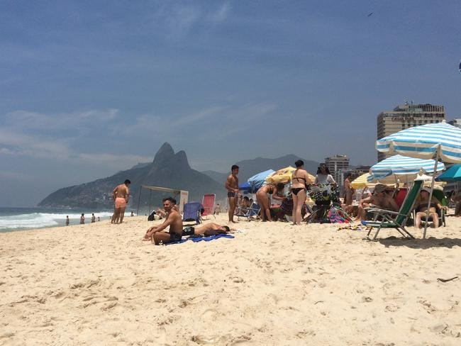 You won't be looking at your book on Ipanema Beach.