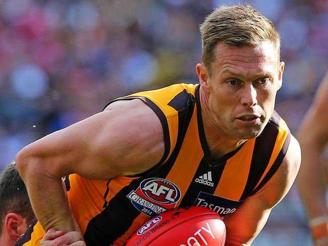 Sam Mitchell is a chance to win the Norm Smith Medal.