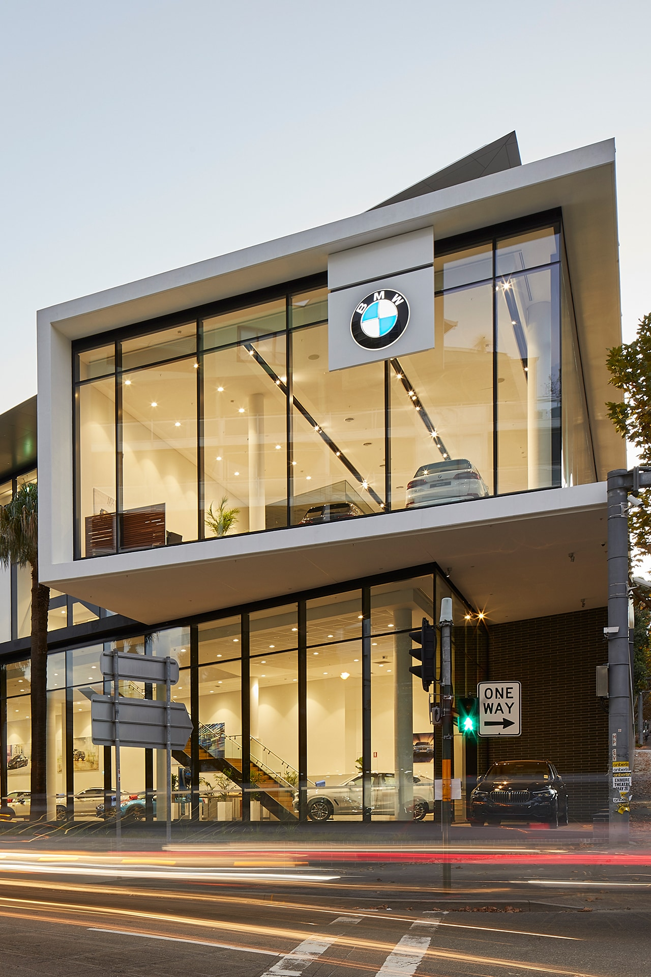 SJB has designed a new BMW dealership in Sydney