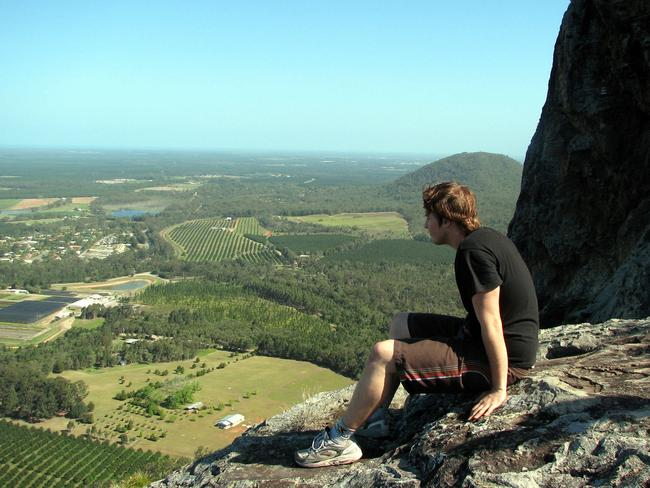 People are climbing in the Glass House Mountains at an increasing rate. Picture: Phil Hammond