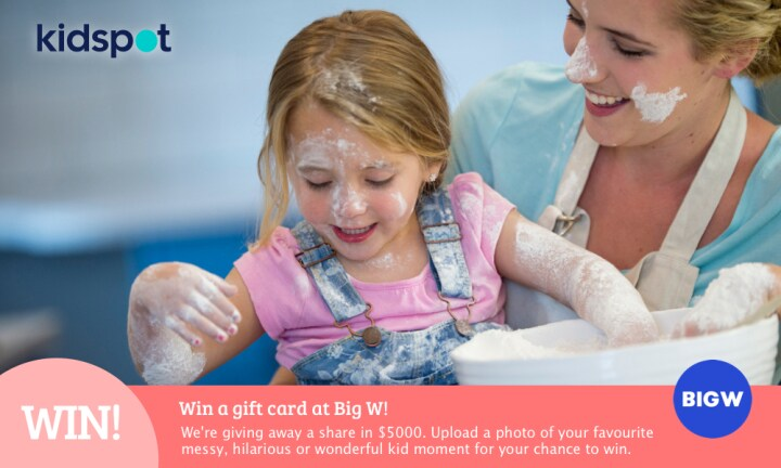 Win $5000 worth of prizes with BIG W!