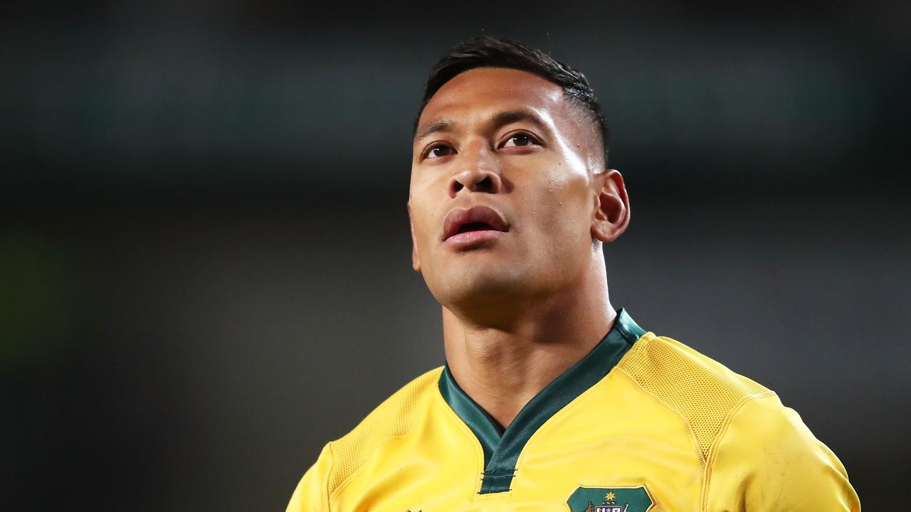The NRL will not consider allowing Israel Folau to return.
