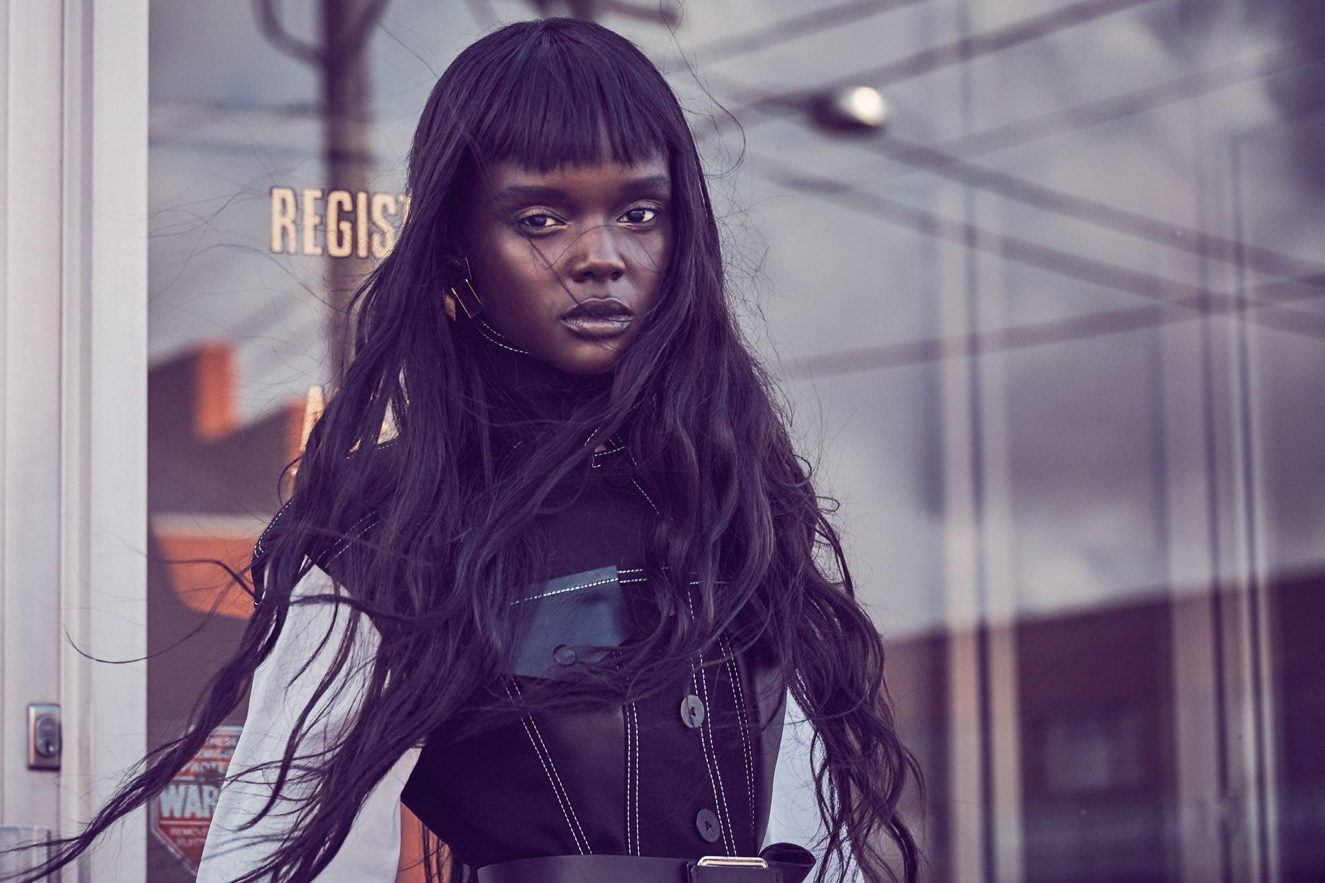 Duckie Thot, model