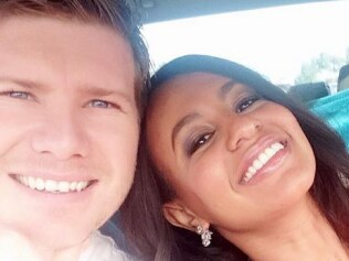Married at First Sight's Zoe Hendrix and Alex Garner. Source: INSTGRAM