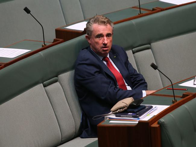 On his own … Nationals MP Kevin Hogan will now sit on the crossbench. Picture: Kym Smith