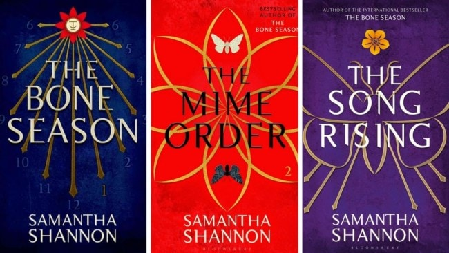 The 3 books published in Samantha Shannon's series