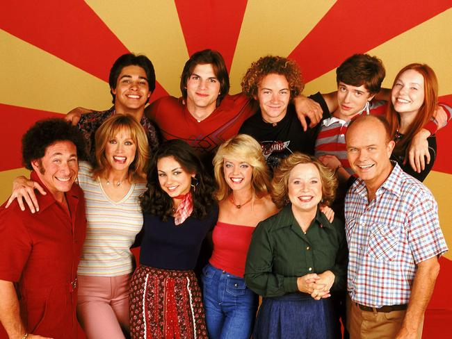 Masterson rose to fame on That '70s Show.