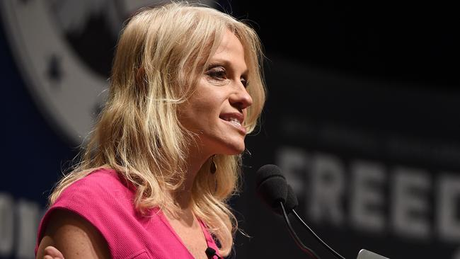Can Kellyanne Conway soften her boss's image?