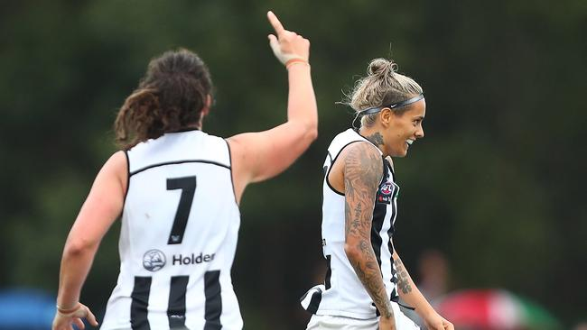 Collingwood caused a major upset. Photo: Chris Hyde/Getty Images