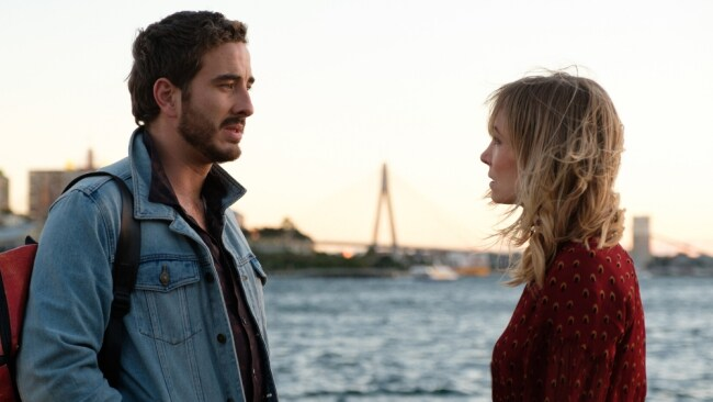 Ryan Corr's character, Shay , with Eadie. Image: Stan