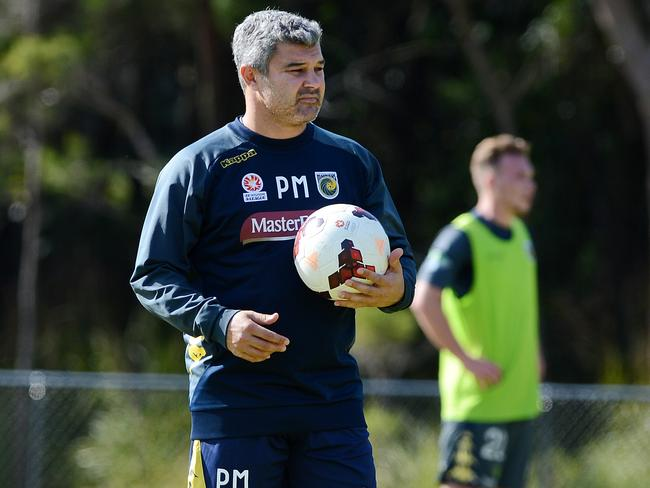 Central Coast Mariners coach Phil Moss.