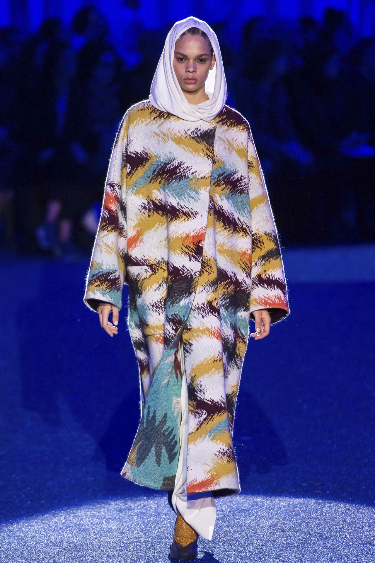 Missoni ready-to-wear autumn/winter '19/'20. Image credit: Gorunway.com