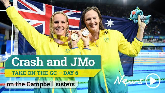 Crash and JMo take on the GC - on the Campbell sisters