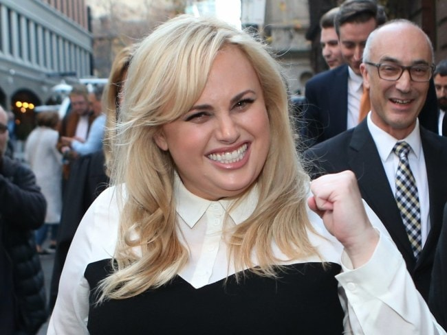Rebel Wilson broke down in the witness box, saying shewas the victim of relentless bullying and an intimidation campaign. Photo: AP
