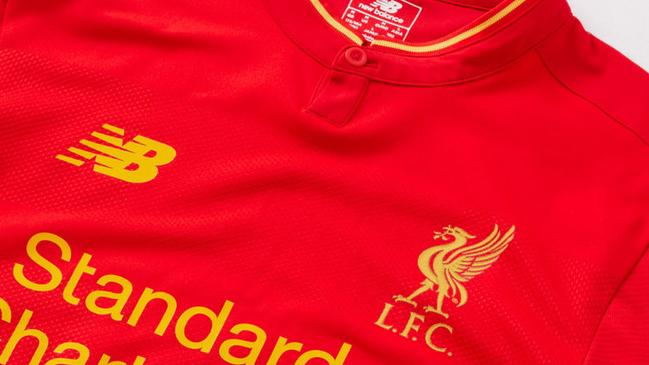 size 40 506f0 2fcde Liverpool kit: new home strip, jersey 2016-17 season ...