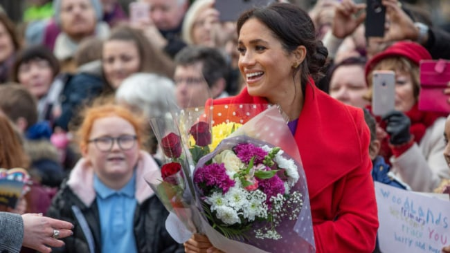 Meghan plans on working late into her pregnancy. Source: Getty Images